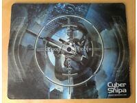 Cyber Snipa microfibre gaming mouse mat