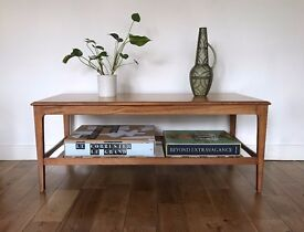 Large Retro Coffee Table by Remploy 1960s