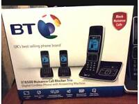 BT CORDLESS TRIO PHONE BRAND NEW SEALED £47