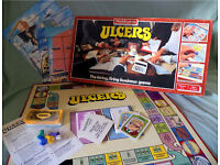 'ULCERS' The Hiring, Firing Business Game from Waddingtons (1985). Very rare game these days.