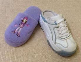Slip on Trainers & Slippers, Size 1