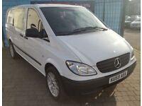2009 (59 reg), Mercedes-Benz Vito 2.1 109 CDI, 3 MONTHS WARRANTY, £4,700 ONO