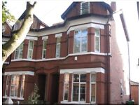 1st floor furnished, 1 bedroom flat to rent in period property. Managed by landlords. No agent fees.