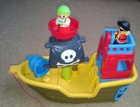 Mega Bloks Musical Pirate Ship