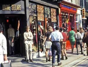 Photo. 1967-8. London, UK. Carnaby Street