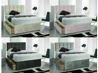 🛏 🛏Instant Delivery 7 days a week BrandNew Bed Button Headboard Single Double King Superking 4sd