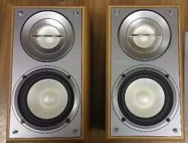 Sony SS-CRB5 Bookshelf Speakers WOOD SILVER 40 WATTS