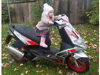 GENERIC SCOOTER XOR AE62 CUG STOLEN ON DUDLEY AREA