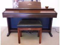 Yamaha Clavinova Digital Electric Piano CVP-103 with storage stool. VGC