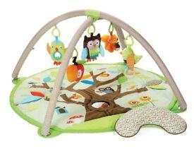 Skip Hop Treetops Baby Activity Gym Play Mat and Tummy Time Cushion Birth+ - £30