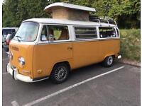 T2 VW Poptop Campervan