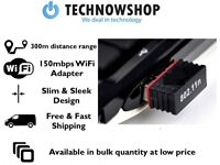 Wifi Adapter 150MBPS WIRELESS 802.11 BGN LAN 300M Range NETWORK USB MINI DONGLE