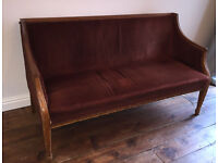 Antique Edwardian sofa / couch