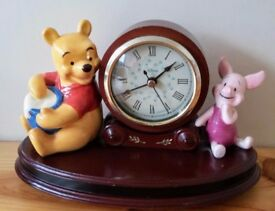 Disney's Pooh Bear and Piglet Clock