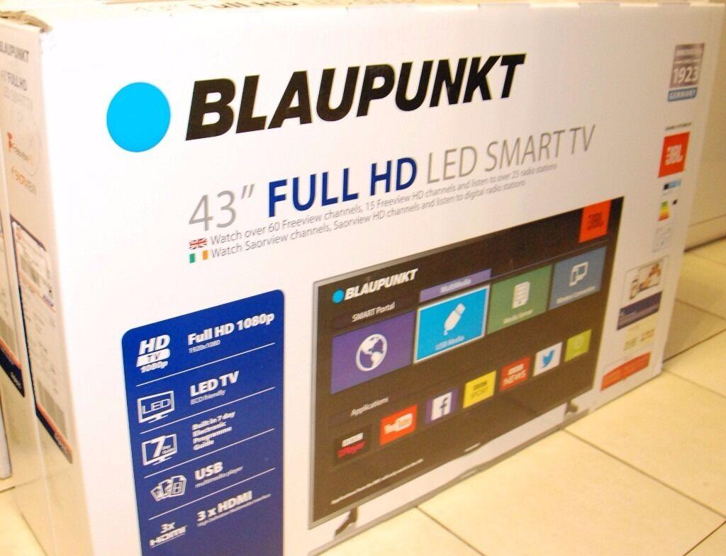 """43"""" LED SMART TV BLAUPUNKT FULL HD 1080p, WiFi, USB - NEW ..."""
