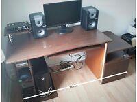 Pc desk workstation