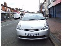 Silver Toyota Prius T3 VVT-I Full Service History - 57REG - 47K - QUICK SALE
