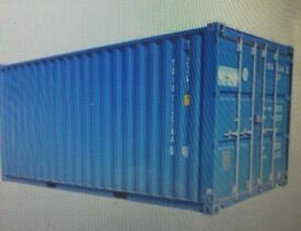 shipping/storage containers to let