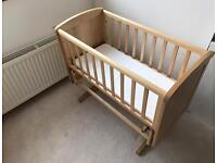 Mothercare Deluxe Gliding Crib FOR SALE