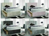 🛏 🛏Instant Delivery 7 days a week BrandNew Bed Button Headboard Single Double King Superking 8yj