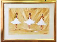 Genuine Original Louise Mansfield Oil Paintings