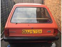 Mk1 Ford Fiesta