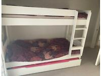 Kids Stompa bunk beds with trundle bed
