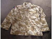 British Military Issue Desert Combat Shirt