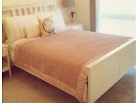 Hemnes Double Bed Frame - Ikea