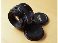 Canon EF 50 mm F/1.4 EF USM lens
