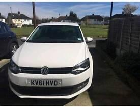 2011 Volkswagen polo 1.2 white 2 door