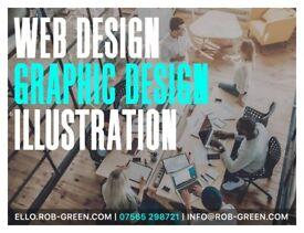 ✅ FREELANCE DESIGNER & ILLUSTRATOR | LOGO DESIGN | WEB DESIGN | ULTRA FAST AFFORDABLE WEB HOSTING