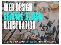 ✅ FREELANCE DESIGNER & ILLUSTRATOR   LOGO DESIGN   WEB DESIGN   ULTRA FAST AFFORDABLE WEB HOSTING