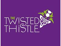 TWISTED THISTLE - CHEF D - COMMI CHEF - KITCHEN PORTER