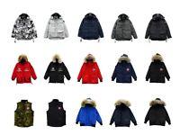 Canada Goose parkas, coats, jackets and vests