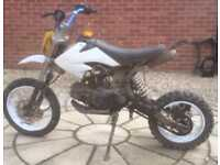 110cc pit bike Pitbike akuma stomp like dt yz rm cr rs ktm etc