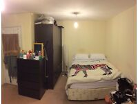 Large double furnished room