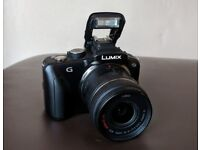 Lumix GF3 Mirrorless camera micro 4/3 boxed + 14-42mm lens