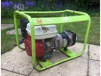 Industrial Pramac 3.5KVA petrol generator Honda 160 engine