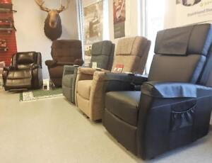Power lift assist recliners!
