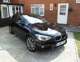 BMW 1 series 2.0 120d SE full BMW service history