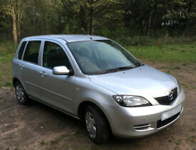 2006 (55 Plate) Mazda 2 Antares, 1.4 Petrol engine with LOW milage @ 65,000 miles
