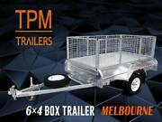 6x4 Cage Box Trailer Galvanised Top Quality Campbellfield Hume Area Preview