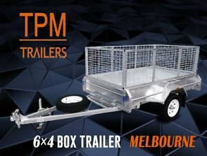6x4 Cage Box Trailer Galvanised Top Quality