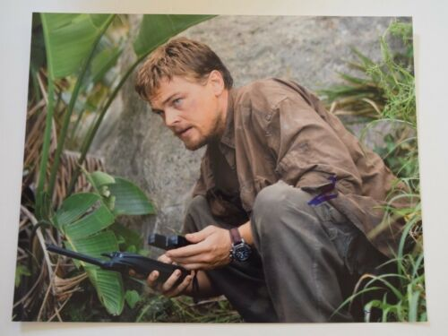 Leonardo Dicaprio Signed Autographed 11x14 Photo BLOOD DIAMOND COA VD