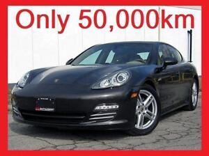 2011 Porsche Panamera 4+ONLY 50,000KM!+NAVI+LOADED