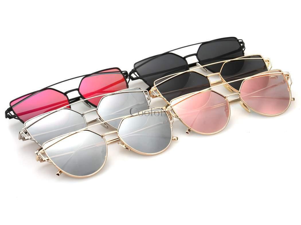 2016 unisex uomo donna retro specchio design occhiali da for Specchio uomo