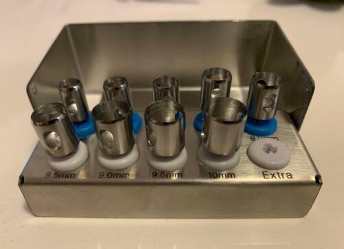 Dental Implant Tissue Punch Kit 9pcs set Surgical Surgery German steel CE