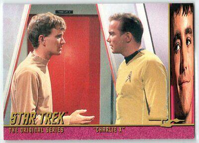 STAR TREK THE ORIGINAL SERIES 40TH ANNIVERSARY S 2 CHARLIE X EP8.4 INSERT CARD
