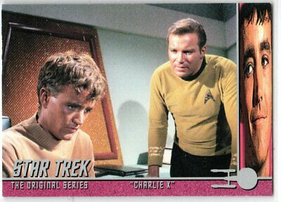 STAR TREK THE ORIGINAL SERIES 40TH ANNIVERSARY S 2 CHARLIE X EP8.2 INSERT CARD